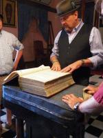 tn_87 Martin Weekes showing the bible
